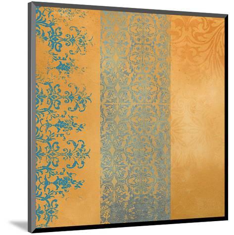 Powder Blue Lace IV-Rachel Travis-Mounted Art Print