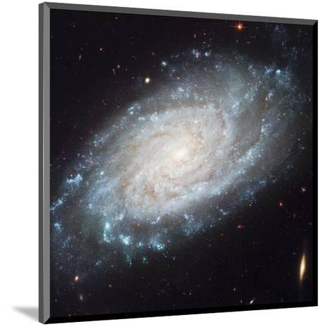 NASA - NGC 3370 Spiral Galaxy--Mounted Art Print
