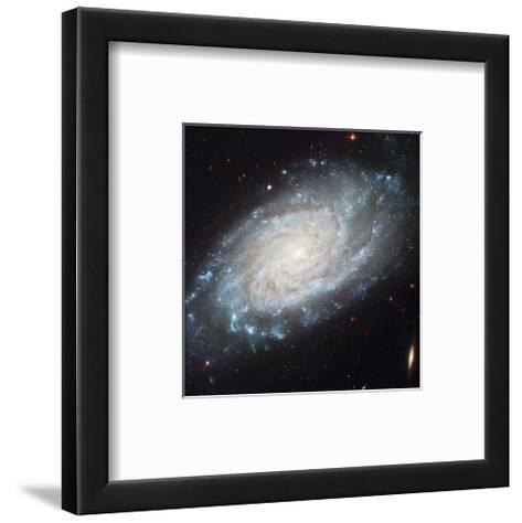 NASA - NGC 3370 Spiral Galaxy--Framed Art Print
