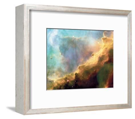 NASA - Perfect Storm Swan Nebula M17--Framed Art Print