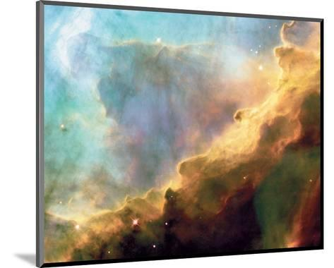 NASA - Perfect Storm Swan Nebula M17--Mounted Art Print