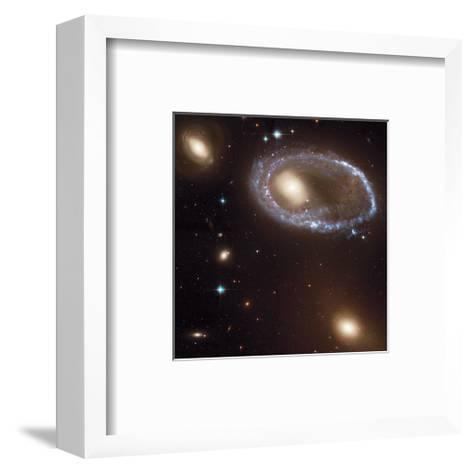 NASA - Ring Galaxy 0644-741--Framed Art Print