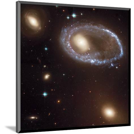 NASA - Ring Galaxy 0644-741--Mounted Art Print