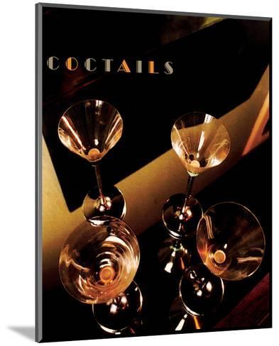 Martini Cocktails II-Richard Sutton-Mounted Art Print