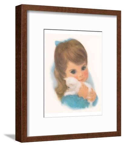 Gerber, Kitty Girl--Framed Art Print