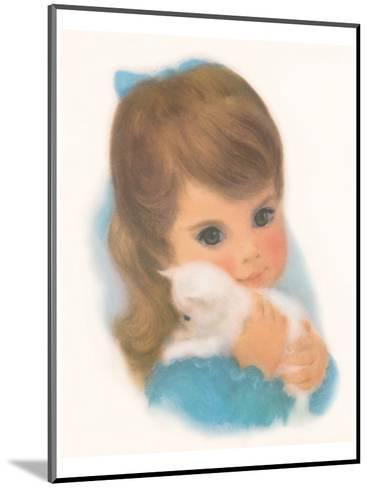 Gerber, Kitty Girl--Mounted Art Print