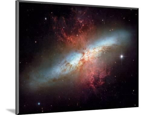NASA - Starburst Galaxy M82--Mounted Art Print