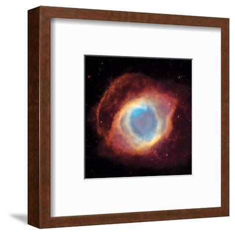 NASA - The Helix Nebula--Framed Art Print