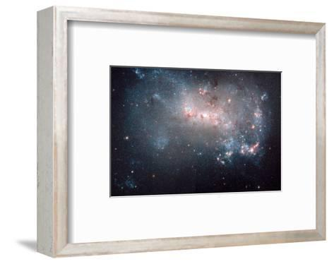 NASA - NGC 4449 Stellar Fireworks--Framed Art Print