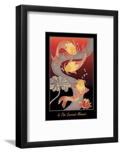 In The Current Moment 1-Sybil Shane-Framed Art Print