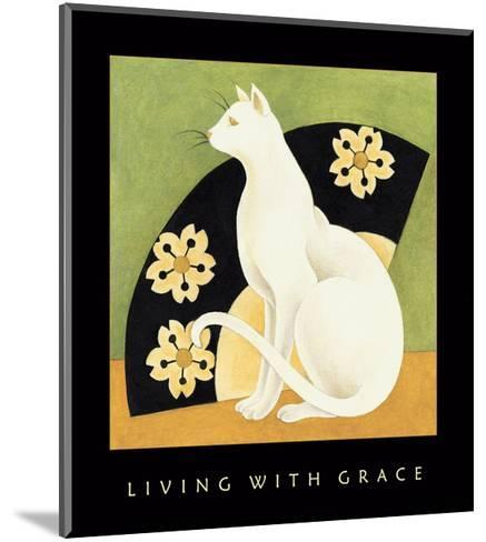 Living With Grace 1-Sybil Shane-Mounted Art Print