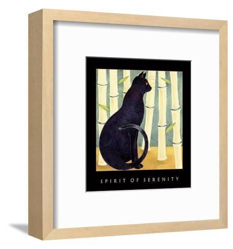 Spirit Of Serenity 1-Sybil Shane-Framed Art Print