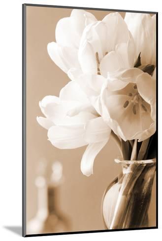 Tulips in Sepia-Christine Zalewski-Mounted Art Print