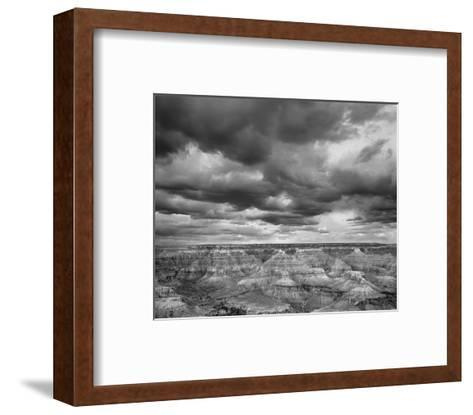 Grand Canyon Powell Point Black and White I-Danny Burk-Framed Art Print