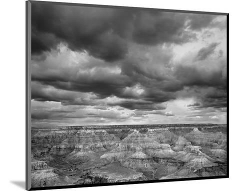 Grand Canyon Powell Point Black and White I-Danny Burk-Mounted Art Print