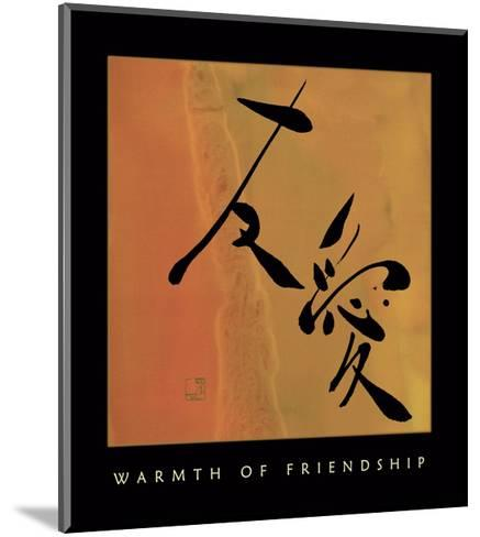 Warmth Of Friendship 1-Sybil Shane-Mounted Art Print