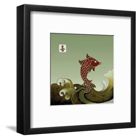 Boundless Joy Arising II-Sybil Shane-Framed Art Print