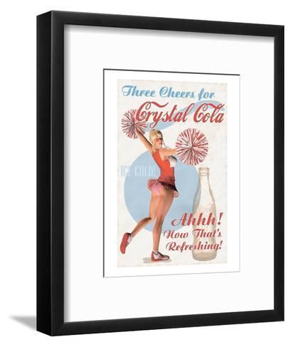 Crystal Cola--Framed Art Print