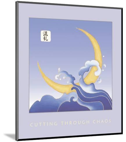 Cutting Through Chaos 1-Sybil Shane-Mounted Art Print