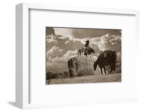Takin? a Break-Barry Hart-Framed Art Print