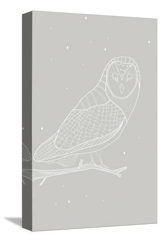 Day Owl-Myriam Tebbakha-Stretched Canvas Print