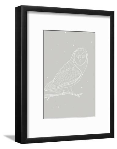 Day Owl-Myriam Tebbakha-Framed Art Print