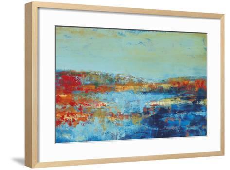Shoreline Glimmer II-Georges Generali-Framed Art Print