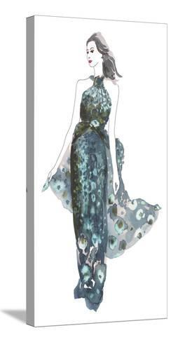 A La Mode II-Sandra Jacobs-Stretched Canvas Print