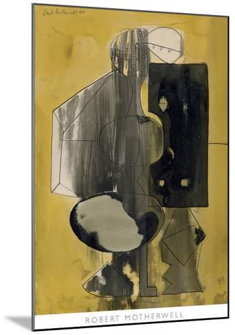 Untitled, 1944-Robert Motherwell-Mounted Art Print