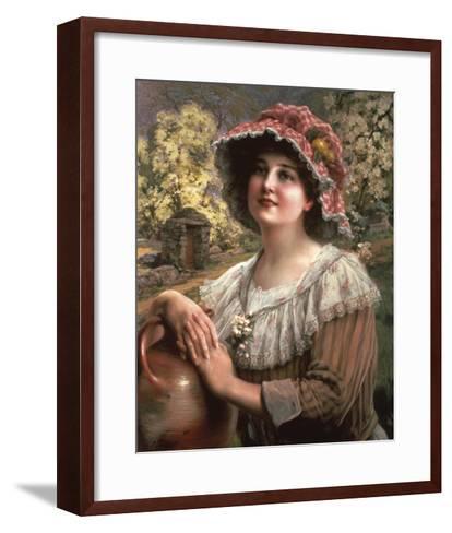 Country Spring-Emile Vernon-Framed Art Print