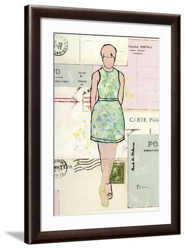 Carte de la Mode III-Clara Wells-Framed Art Print