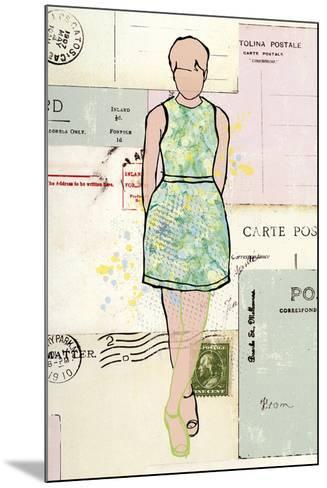 Carte de la Mode III-Clara Wells-Mounted Giclee Print