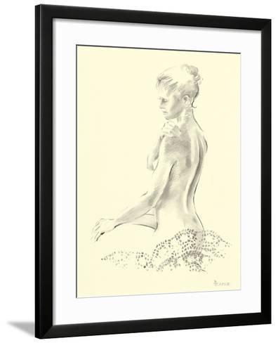 Narcisse II-Deborah Pearce-Framed Art Print