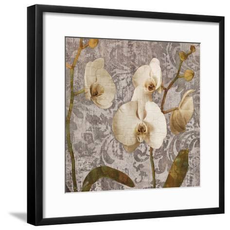 Damask Blooms II-Tania Bello-Framed Art Print