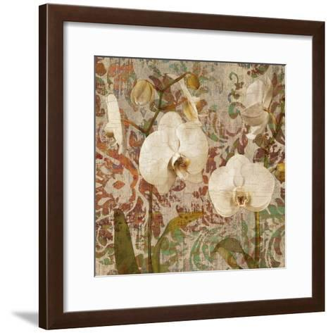 Orchid Crackle II-Tania Bello-Framed Art Print