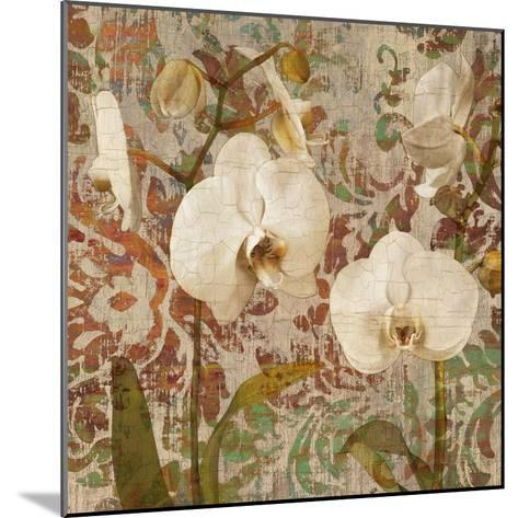 Orchid Crackle II-Tania Bello-Mounted Giclee Print
