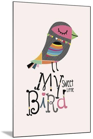 My Sweet Little Bird-Sophie Ledesma-Mounted Giclee Print