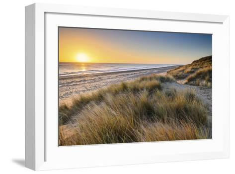 East Coast Sunrise-Steve Docwra-Framed Art Print