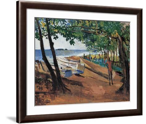 J'Anse Mitan-Boscoe Holder-Framed Art Print
