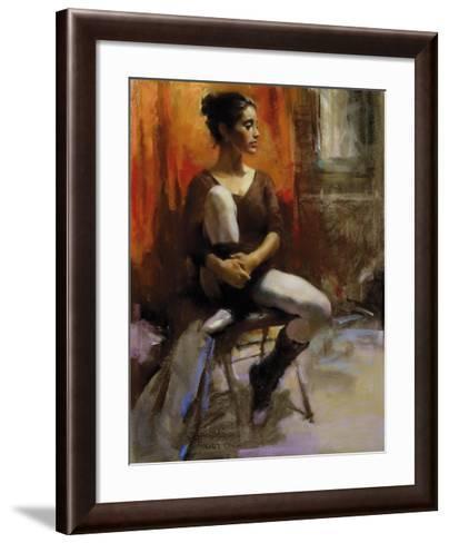 The Audition-Harley Brown-Framed Art Print