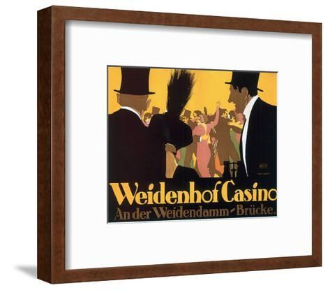 Weidenhof Casino-Ernst Lubbert-Framed Art Print