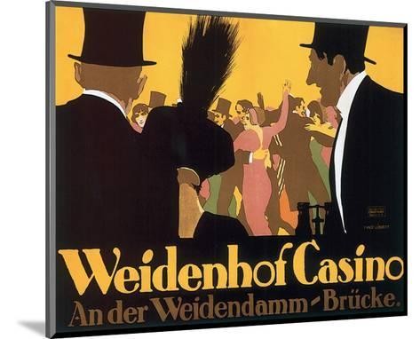 Weidenhof Casino-Ernst Lubbert-Mounted Art Print