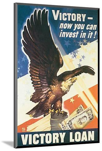 Victory - Now You Can Invest In It! 1945-Dean Cornwell-Mounted Art Print