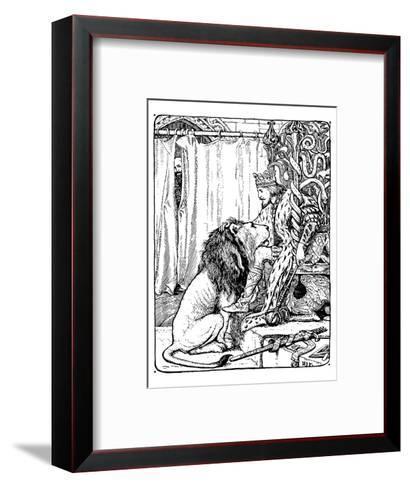The Twelve Huntsman-H.J. Ford-Framed Art Print