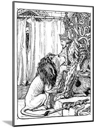 The Twelve Huntsman-H.J. Ford-Mounted Art Print