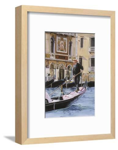 The Gondolier-Roberta Aviram-Framed Art Print
