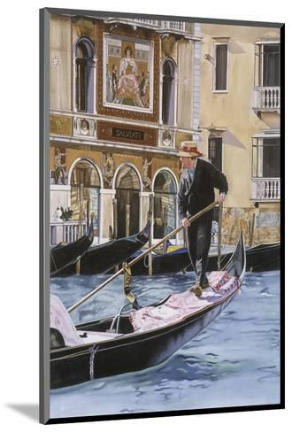 The Gondolier-Roberta Aviram-Mounted Art Print