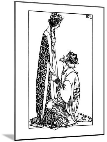 Hacon Grizzlebeard- Reginald & Knowles-Mounted Art Print