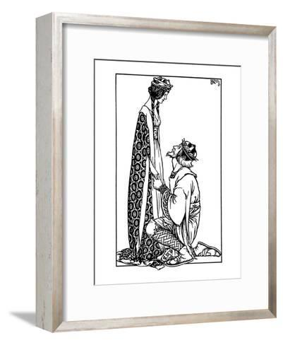 Hacon Grizzlebeard- Reginald & Knowles-Framed Art Print