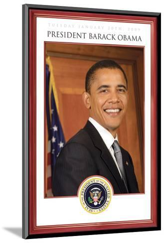 President Barack Obama - Tuesday, January 20th, 2009--Mounted Art Print